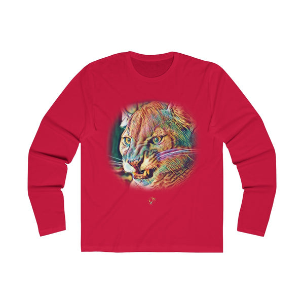 The Florida Panther Long Sleeve Red T-Shirt