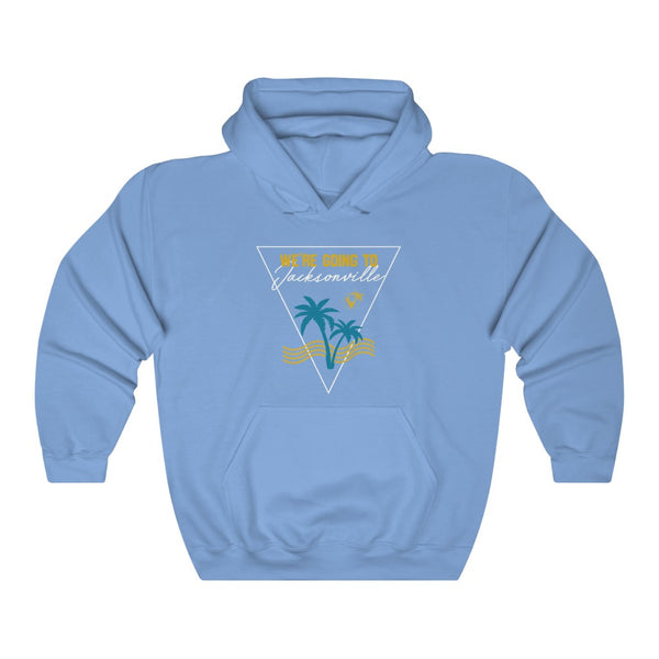 We're Going To Jacksonville Hoodie carolina blue