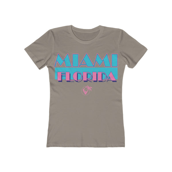 Miami Vice Ladies Gray T-Shirt