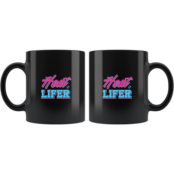 Heat Lifer - 11oz Black Mug