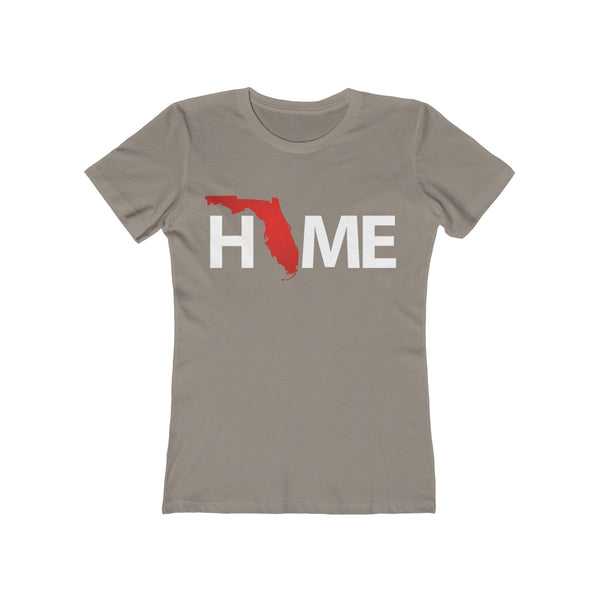 Home Ladies Gray T-Shirt