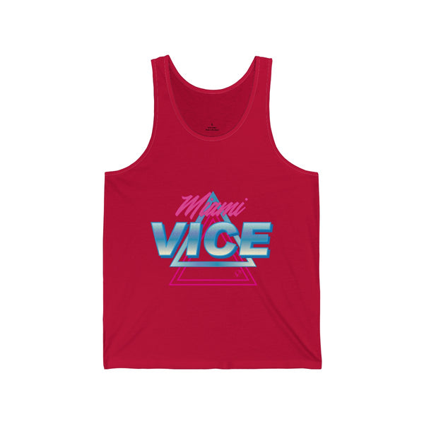 Welcome to Miami Vice Red Tanks