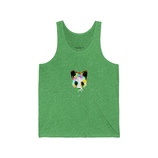 Panda Vibez Green Tanks