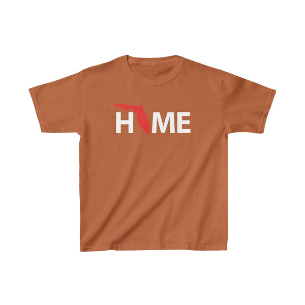 Home Kids Orange T-Shirt