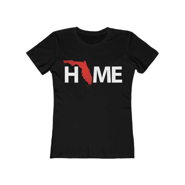 Home Ladies Black T-Shirt