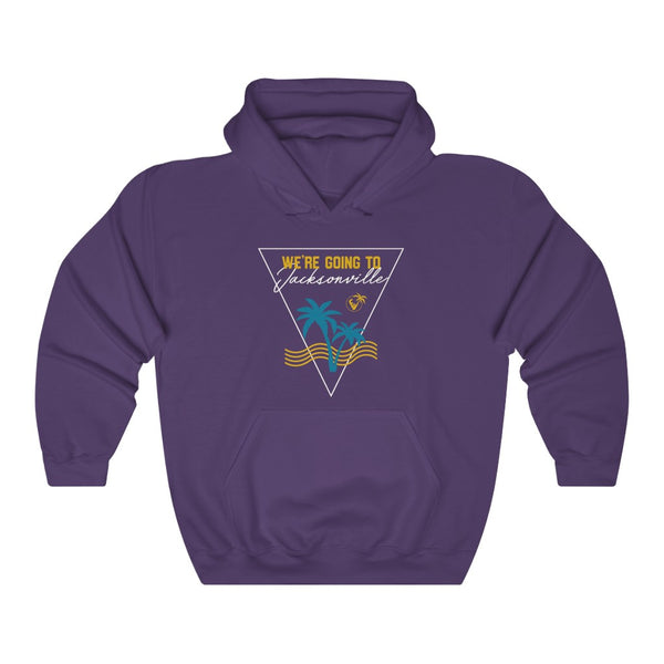 We're Going To Jacksonville Hoodie purple