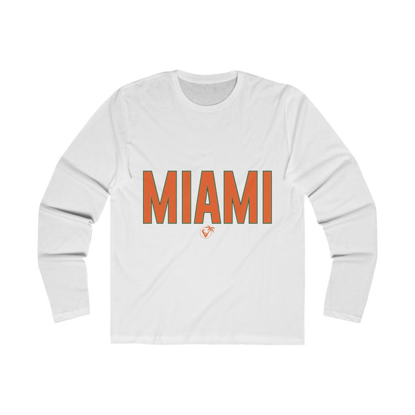 Miami Long Sleeve white