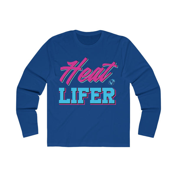 Heat Lifer Long Sleeve Royal Blue T-Shirt