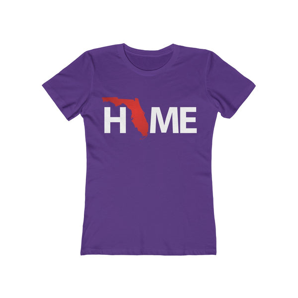 Home Ladies Purple T-Shirt
