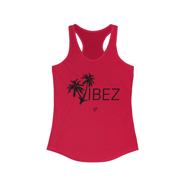 V.I.B.E.Z Red Ladies Tank Tops