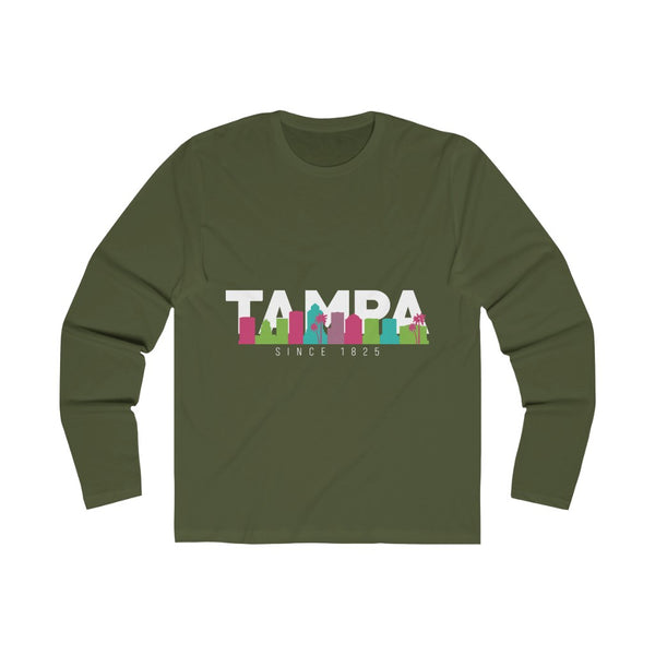 The Bay Long Sleeve military green