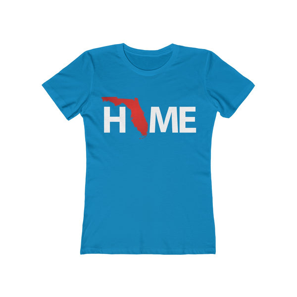 Home Ladies Turquoise T-Shirt
