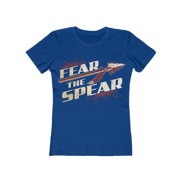 Fear The Spear Ladies Royal Blue T-Shirt