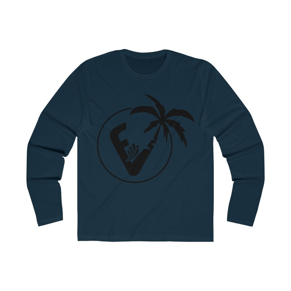 Vice City Long Sleeve Navy T-Shirt