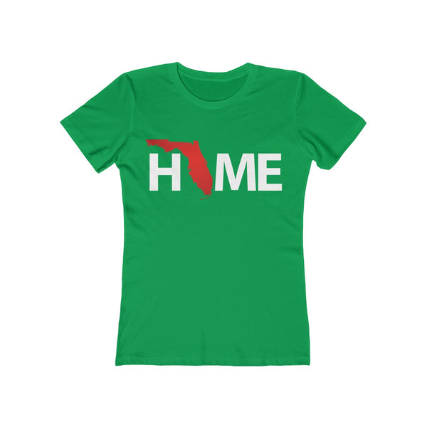 Home Ladies Green T-Shirt