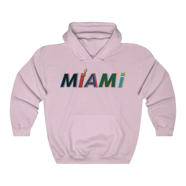 New Era Miami Light Pink Hoodie