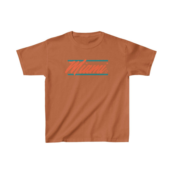 U are Miami Kids Orange T-Shirt