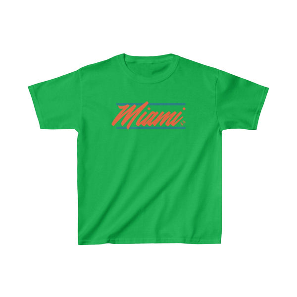 U are Miami Kids Green T-Shirt
