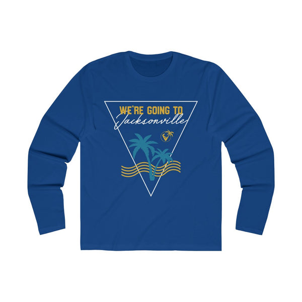 We're Going To Jacksonville Long Sleeve royal blue