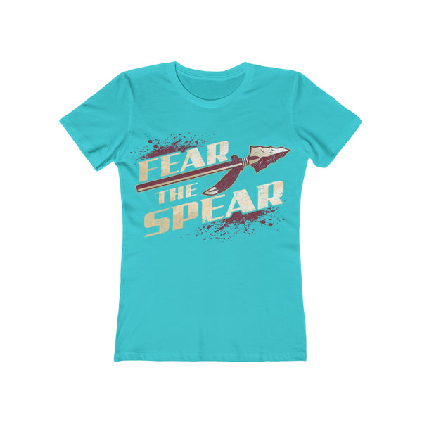 Fear The Spear Ladies Blue T-Shirt