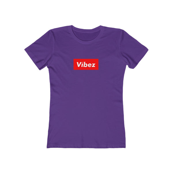 Hype Vibez Ladies Purple T-Shirt
