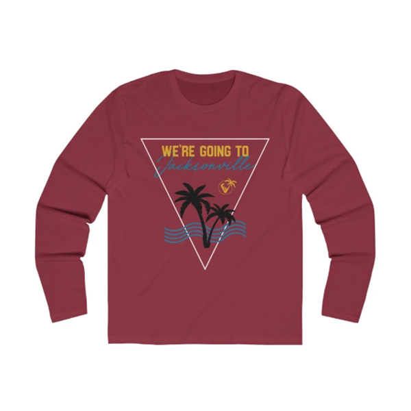 We're Going To Jacksonville Long Sleeve scarlet red