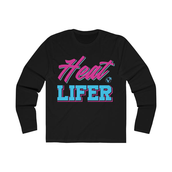 Heat Lifer Long Sleeve Black T-Shirt