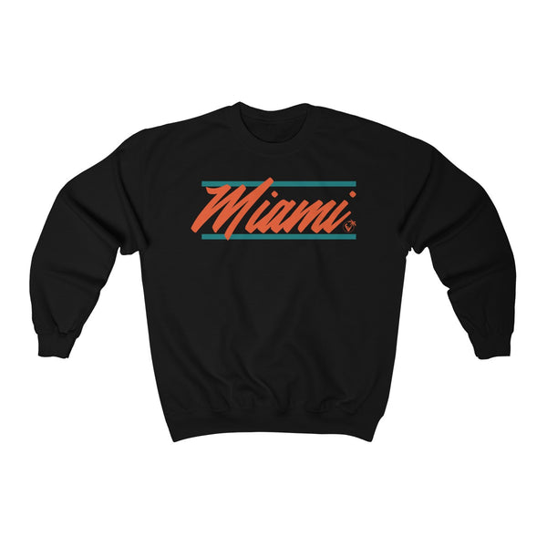 U Are Miami Black Sweatshirt