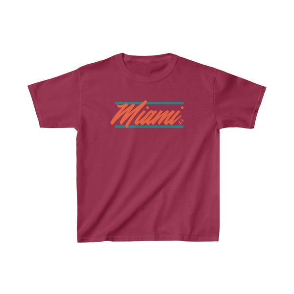 U are Miami Kids Cardinal Red T-Shirt
