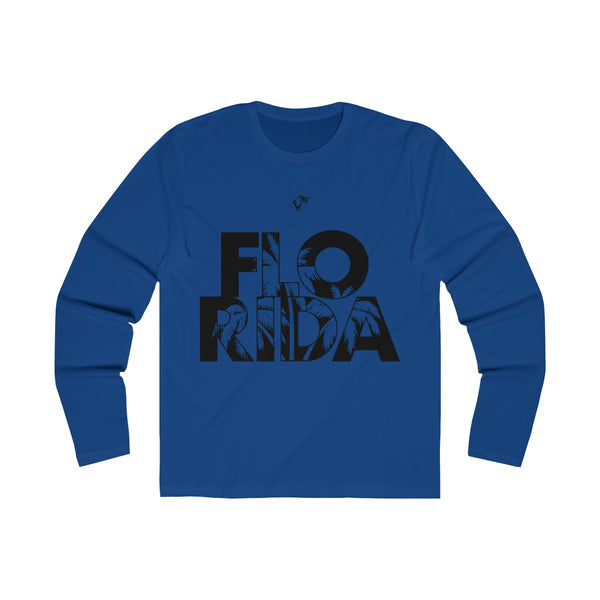 FloRida Long Sleeve Royal Blue T-Shirt