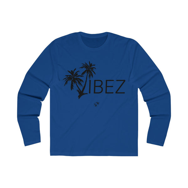 V.I.B.E.Z  Long Sleeve Royal Blue T-Shirt
