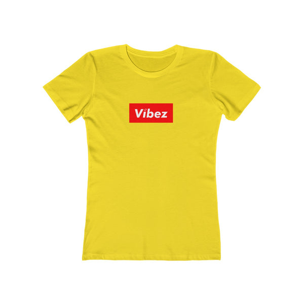 Hype Vibez Ladies Yellow T-Shirt