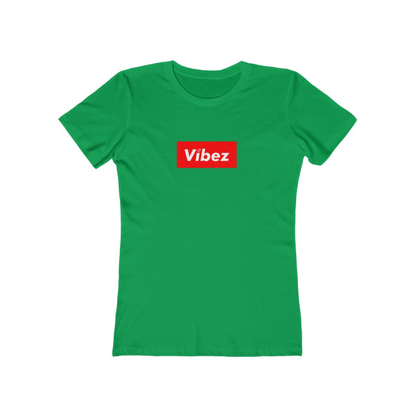 Hype Vibez Ladies Kelly Green T-Shirt
