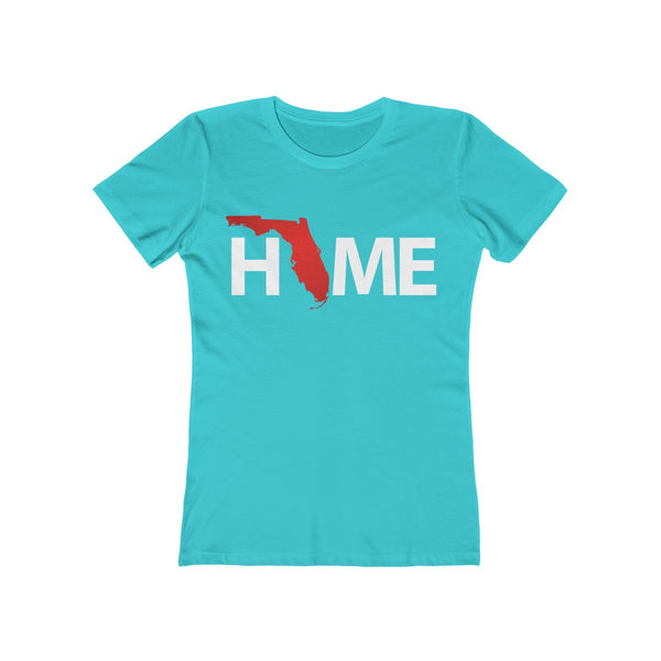 Home Ladies Blue T-Shirt