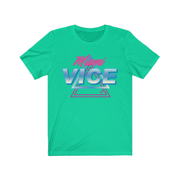 Welcome to Miami Vice Teal T-Shirt