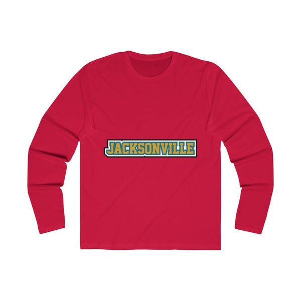 Jax Long Sleeve solid red