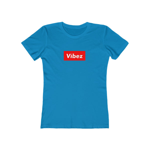 Hype Vibez Ladies Torquoise T-Shirt