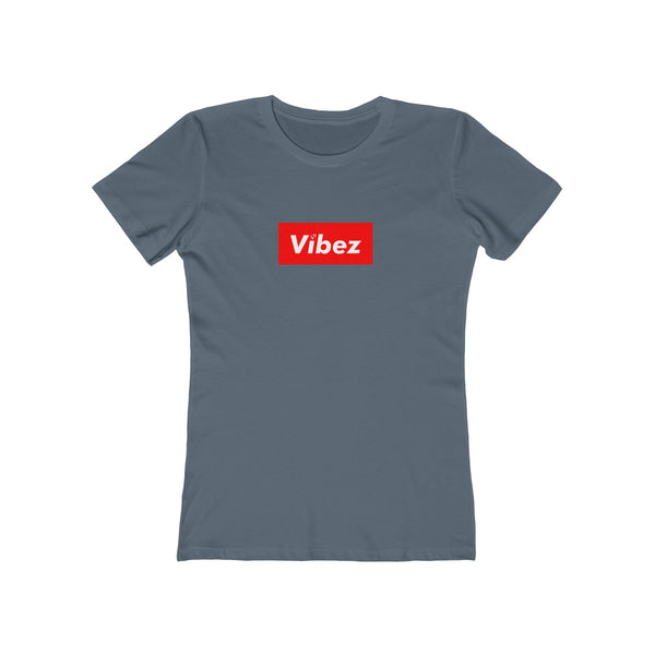 Hype Vibez Ladies Indigo T-Shirt