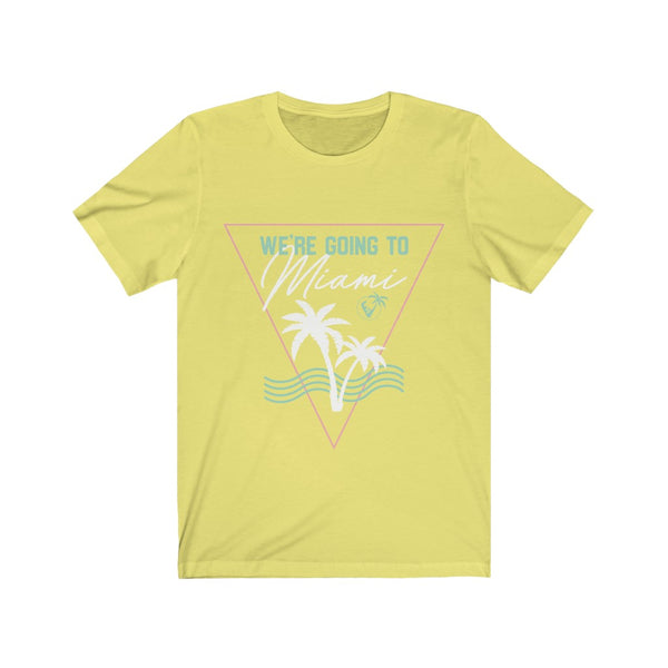 We're Going To Miami Premium T-shirts