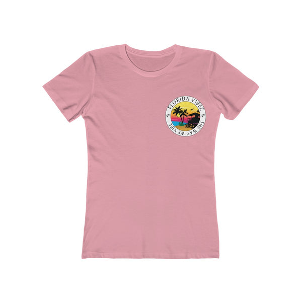 The Way We Vibe Ladies Light Pink T-Shirt