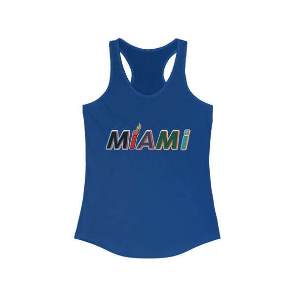 New Era Blue Ladies Tank Tops