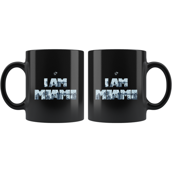 I am Miami - 11oz Black Mug