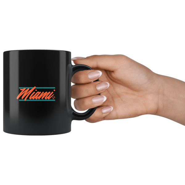 U are Miami - 11oz Black Mug