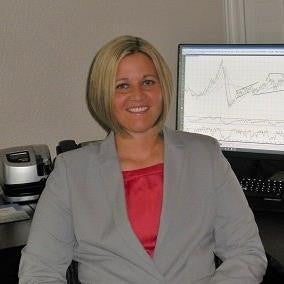 <b>Carley Garner</b><span>, Commodity Broker/Analyst at DeCarley Trading, and author of </span><i>Higher Probability Commodity Trading</i>
