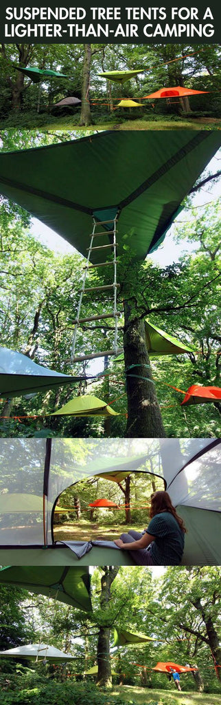 What are tree tents?