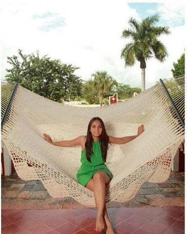 Medium image of american deluxe style mayan hammock mayan hammock sunnydaze decor hammock up