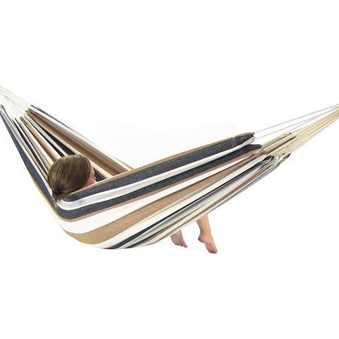 Calming Desert Double Brazilian Hammock-Fabric Hammock -SUNNYDAZE DECOR-Hammock UP