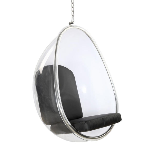 Fine Mod Imports Balloon Hanging Chair-Hanging Chair-Fine Mod Imports-Black-Hammock UP