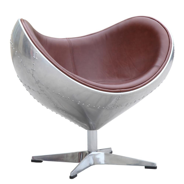 Fine Mod Imports Eyebe Chair Brown-Accent Chair-Fine Mod Imports-Hammock UP
