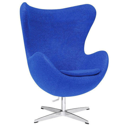 Fine Mod Imports Inner Chair Fabric-Accent Chair-Fine Mod Imports-Blue-Hammock UP